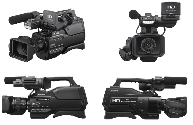 Sony HXRMC2500 Shoulder Mount AVCHD Camcorder with 3-Inch LCD