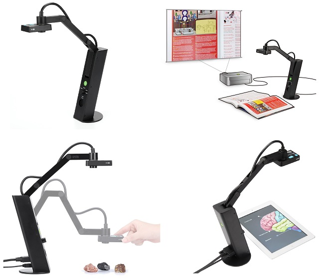 IPEVO VZ-1 HD VGA/USB Dual-Mode Document Camera (CDVU-05IP)