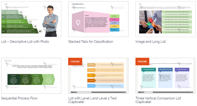 10 Great e-Learning Templates Sources – Free and Paid