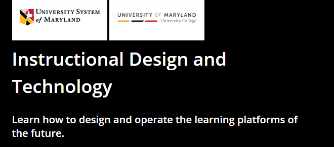 Instructional Design and Technology MicroMasters